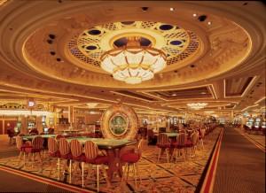 Зал для игры в покер.