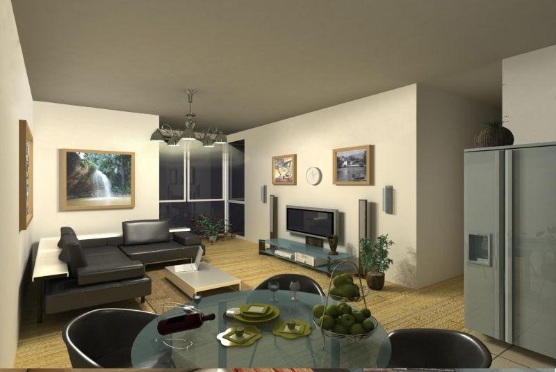 Самый простой дизайн квартиры-студии
