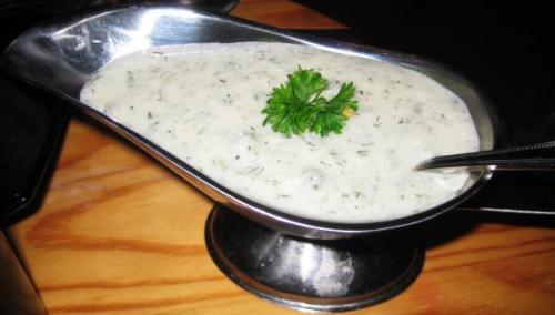 Чесночный соус с сыром рецепт